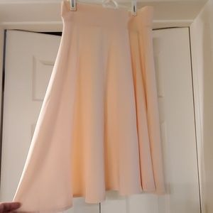 A line flare skirt size M